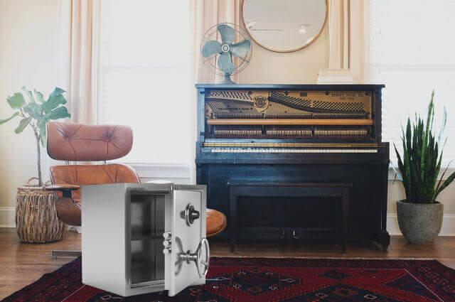 Transport och flytt av pianon och tympliga instrumen
